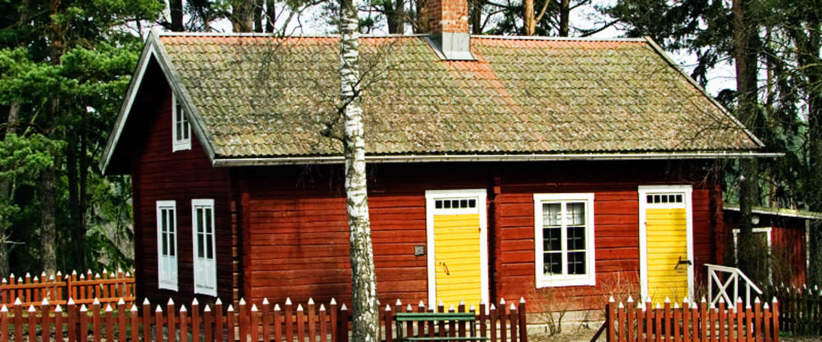 The little red cottage