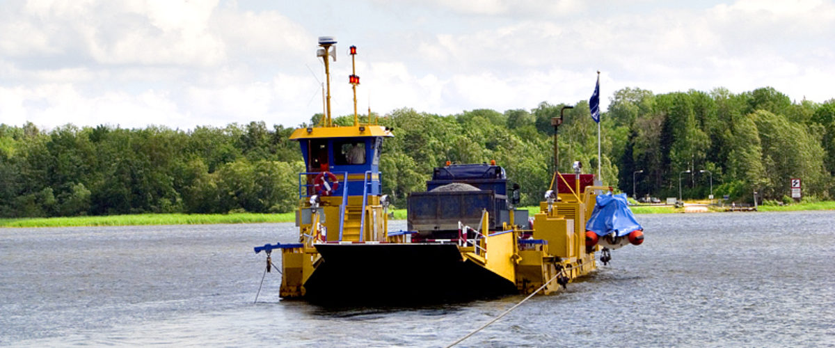 Line ferry between Arnö and Oknö