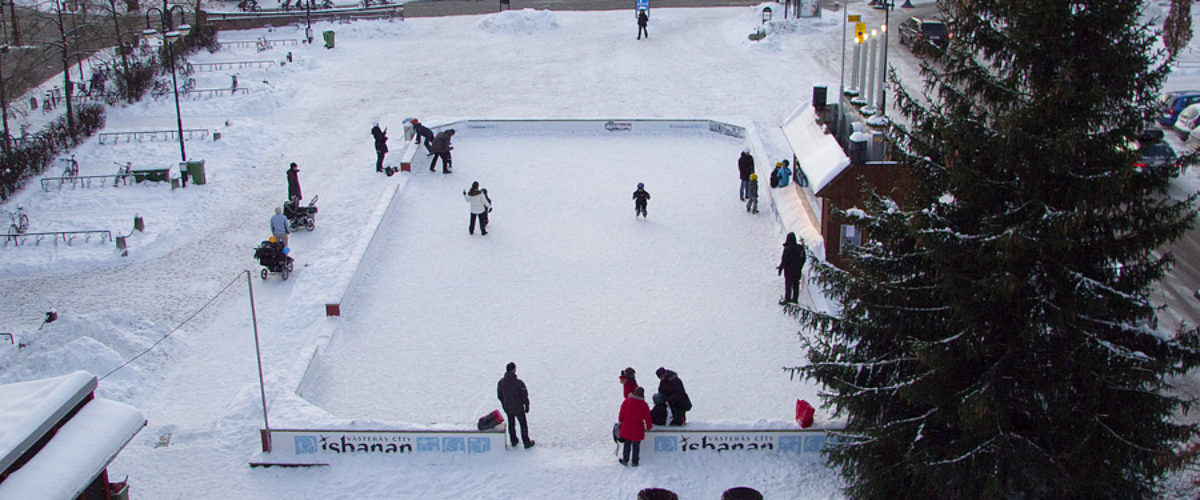 A day at the ice rink