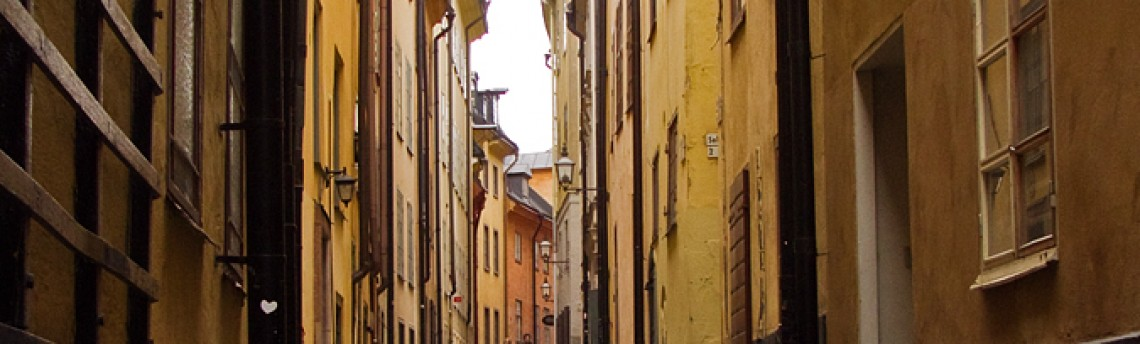 The old city in Stockholm