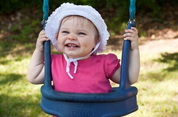 Princess Fanny swinging