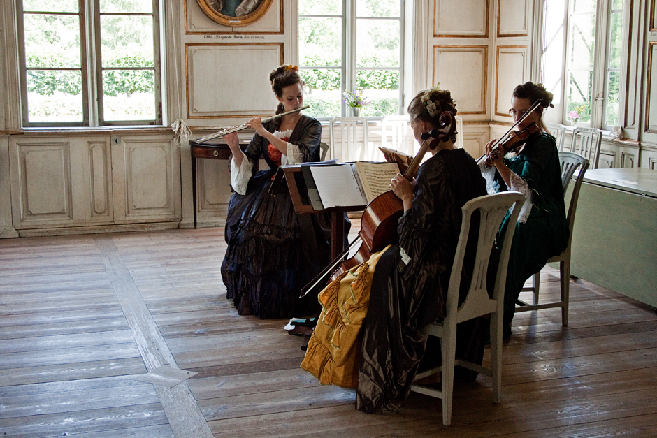 Music at the Skogaholm Manor