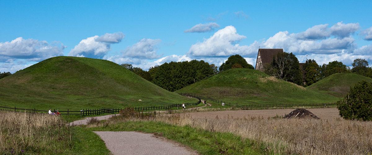 The Royal Mounds - Kungshögarna