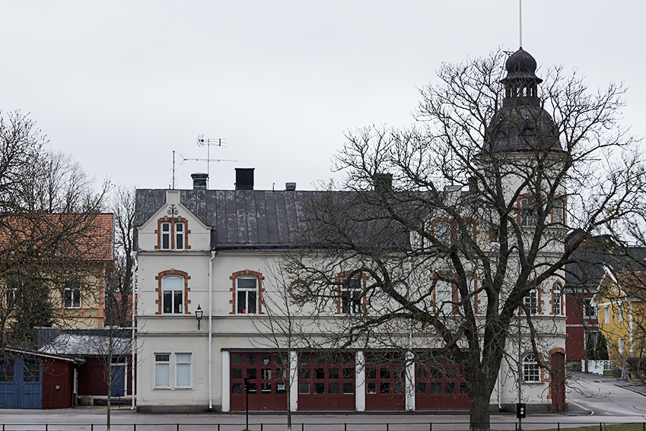 The old fire station in Arboga