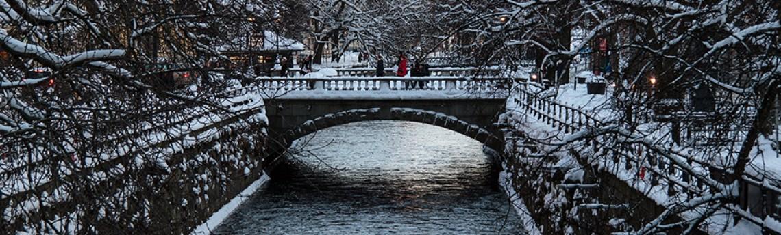 Uppsala – The Fyris river