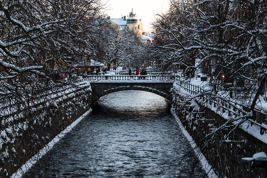 Uppsala - The Fyris river