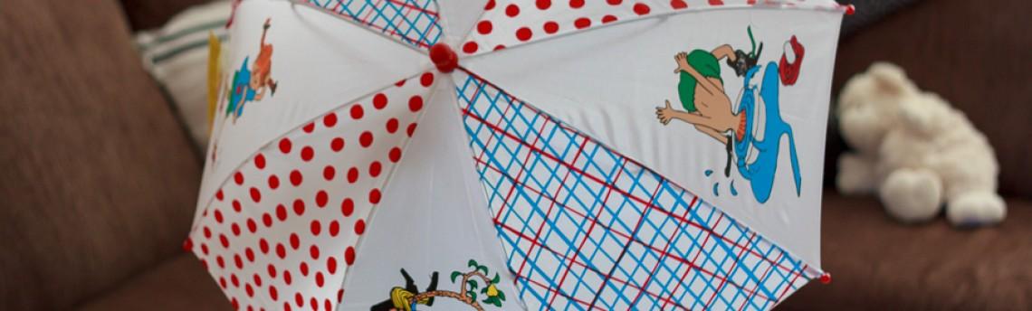 The Pippi Longstocking Umbrella