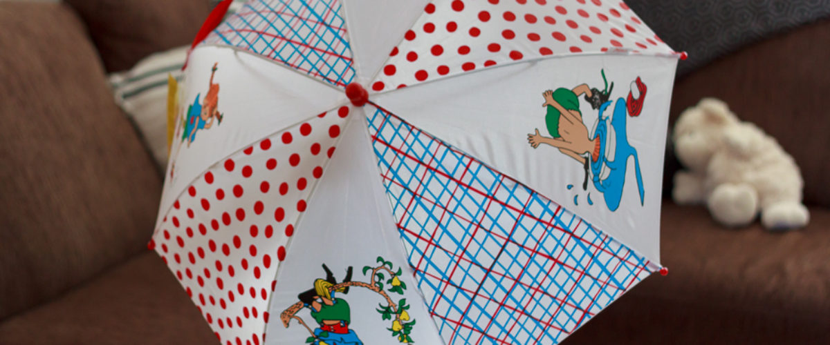 The Pippi Longstocking Umbrella