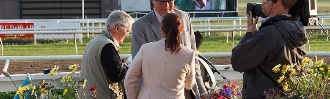 Interview at Täby galopp