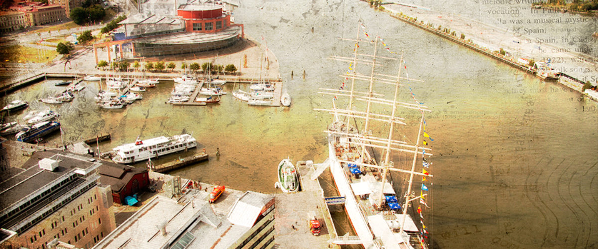 Viking a four-masted bark in Gothenburg
