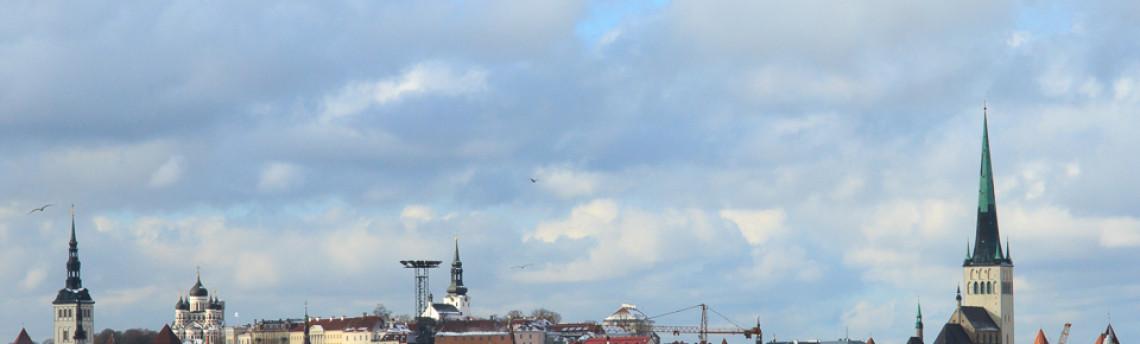 Approaching Terminal D – The port of Tallinn