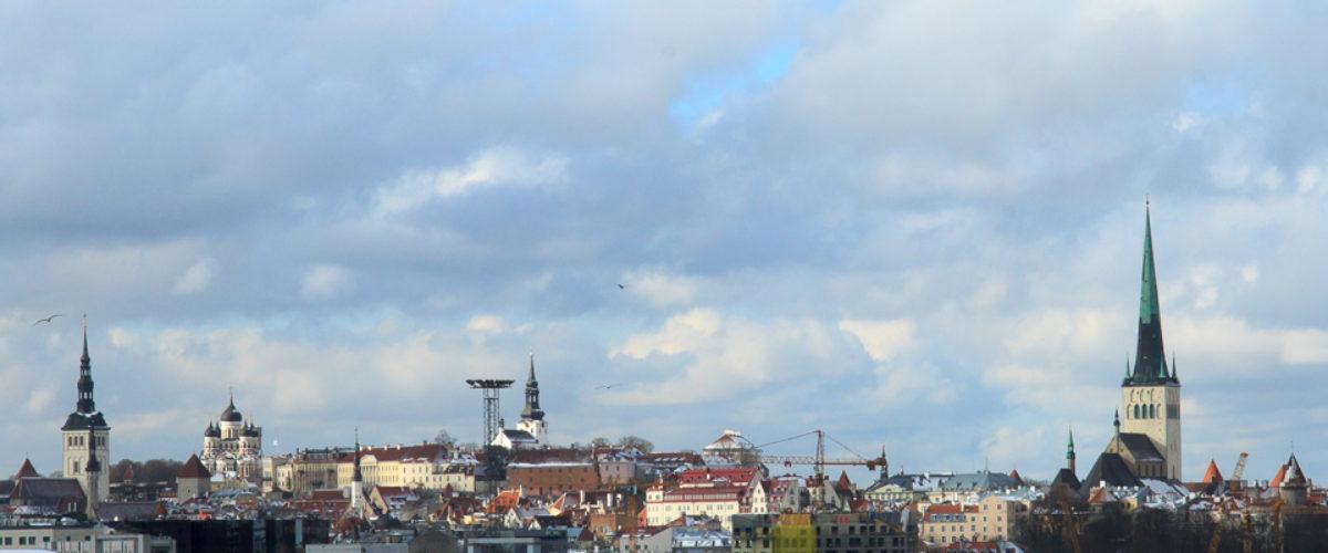 Approaching Terminal D - The port of Tallinn