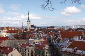 Downtown Tallinn