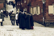 The old city at Skansen